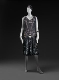 Evening dress ca. 1927 From the National Gallery of Victoria