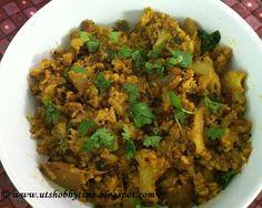 Cauliflower Milagu varuval / Pepper Fry