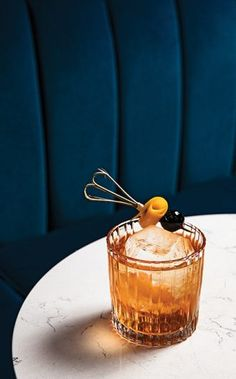 In the Normandy Old Fashioned from Roquette in Seattle, French and American apple brandies form a rich foundation for this simple cocktail. Brandy Cocktails, Easy Cocktails, Cocktail Recipes, Apple Brandy, Orange Twist, Bourbon Whiskey, Normandy, Simple Syrup, Meals For The Week