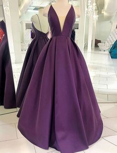 Purple Satin V Neck Simple Long Prom Dress Evening Dress from Sweetheart Dress - Sparkle Phone Cases - Sparkle Iphone Cases for sales - - Cheap Prom Dresses by SweetheartDress Purple Satin V Neck Simple Long Prom Dress Evening Dress Cheap Prom Dresses, Simple Dresses, Elegant Dresses, Sexy Dresses, Fashion Dresses, Awesome Dresses, Dress Prom, Dress Long, Party Dresses