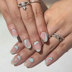 Nagellack Design, Nagellack Trends, Cute Acrylic Nails, Acrylic Nail Designs, Stylish Nails, Trendy Nails, Winter Nails, Spring Nails, Summer Nails