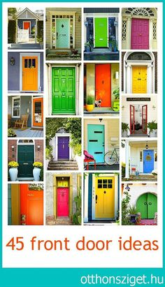 Front Door Color Ideas: