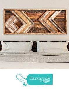 Reclaimed Wood Wall Art - Chevron Decor from Grindstone Design https://www.amazon.com/dp/B06WVMCP47/ref=hnd_sw_r_pi_dp_YHyozb71F3AW3 #handmadeatamazon