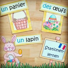🌼🐣 Stationenlerne Teaching French, Peanuts Comics, Instagram, Art, Rabbits, Basket, Weihnachten, Art Background, Teaching French Immersion