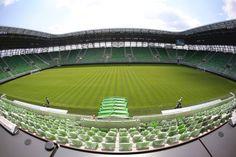 Groupama Aréna (Albert Flórián Stadion) – StadiumDB.com Florian, Baseball Field, Budapest, Golf Courses, Soccer, Sports, D1, Club, Hs Sports