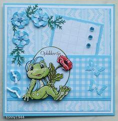 Voorbeeldkaart - Opkikker voor Jan - Categorie: Scrapkaarten - Hobbyjournaal uw hobby website