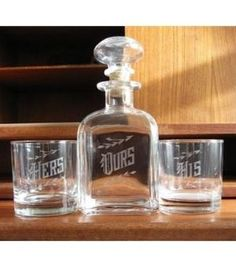 Love & Victory Decanter