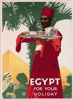 Egypt-For-Your-Holiday-Vintage-Egyptian-Travel-Advertisement-Art-Poster-Print