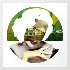 (I`m) watching You! Art Print by Marko Köppe - $19.99