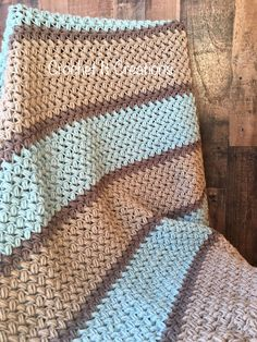 Bean Blanket Crochet Pattern - Crochet it Creations