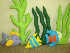 algas marinhas feltro - Pesquisa Google