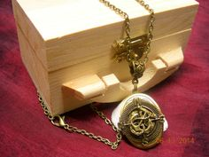 Steampunk Nautical Compass with Anchor Locket by mythicaljewelry, $19.99