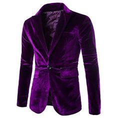 27.44$  Watch here - http://didvh.justgood.pw/go.php?t=137443709 - Slimming Lapel Vogue Pocket Edging Design Long Sleeve Men's Corduroy Blazer 27.44$