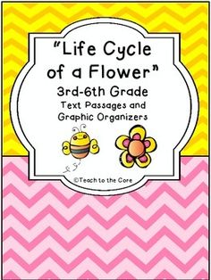 **Make sure you download the Preview!Increase your students' understanding of The Life Cycle of the Flower with the Close Reading passages of Informational Text.  The 5 informational texts that are included have Lexile Levels between 470-1010.  There are 26 graphic organizers included  - there is a lot of variety in the graphic organizers from RI.1 to RI.10, including writing.