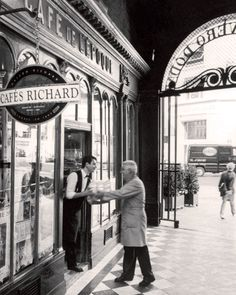 Cafe Richard, France
