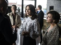 Princess Mary attended the opening of Cultural Children's Summit