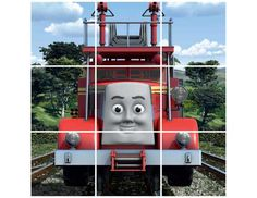Thomas and Friends online puzzles and activitites