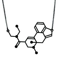 molecular composition of lsd as a necklace