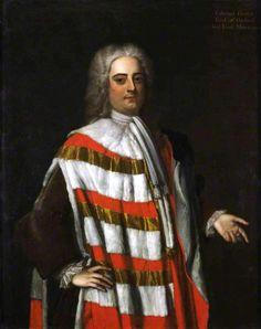 Edward Harley, 2nd Earl of Oxford ~ ca1728, Michael Dahl I