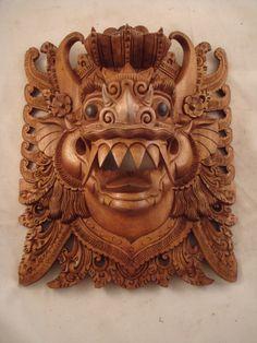 Barong Lion God - Bali