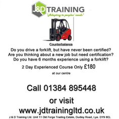 Experienced forklift driver but not certified? visit http://ift.tt/1HvuLik #training #offers #jobsearch #forklift