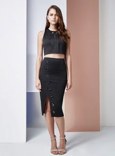 Finders Keepers Undisclosed Skirt – Black