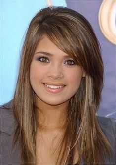 Layered Hair With Fringe Styles The Layered Hair With Fringe Styles can become your desire when thinking of about Daily Hairstyle. When publishing this Layered Hair With Fringe Sty. Choppy Long Layered Haircuts, Long Angled Bob Hairstyles, Long Bob Haircut With Bangs, Layered Haircuts With Bangs, Side Bangs Hairstyles, Long Hairstyles, Layered Hairstyles, Trendy Haircuts, Fringe Hairstyles