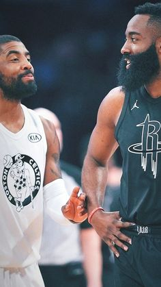 James Harden and Kyrie Irving All-Star Wallpaper