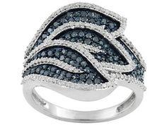 Blue Velvet Diamond(Tm) 1.00ctw