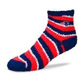 New England Patriots For Bear Feet NFL Candy Cane Sleep Sock. #Patriots #SVSports #FanGear # NFL