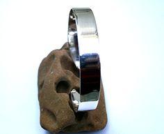 Sterling Silver Cuff Bracelet Minimalist by JewelryByKonstantis Handmade Silver, Handmade Jewelry, Sterling Silver Cuff Bracelet, Birthday Gifts For Her, Minimalist Jewelry, Women's Earrings, Silver Jewelry, Fashion Accessories, Women's Fashion