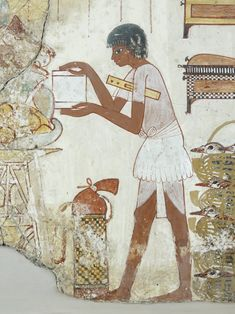 Painting from the tomb chapel of Nebamun, who was the nobleman and a court official of Amenhotep III, 18th Dynasty - 1350 BC