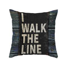 The Tightrope Throw Pillow gives a definitive nod to a country-western music master, but its message is a universally clear and powerful one that resonates with us all. This beautiful pillow offers ext...  Find the Tightrope Throw Pillow, as seen in the Onstage in Nashville Collection at http://dotandbo.com/collections/onstage-in-nashville?utm_source=pinterest&utm_medium=organic&db_sku=108502