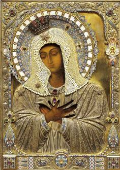 http://www.sanmiguelicons.com/gallery/repouse.php  beautiful contemporary icons based on images form the past.