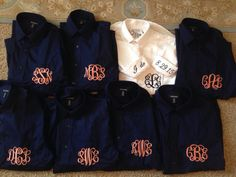 Bridesmaid custom monogrammed getting ready button down shirt! Multiple COLOR OPTIONS!!! Adult and YOUTH sizes!!!
