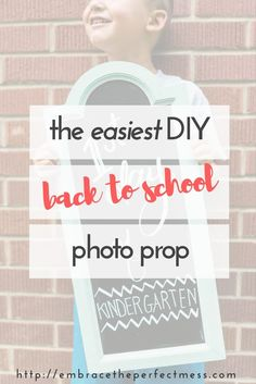 This easy DIY back t