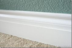 base moldings caulked