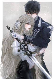 Anime Couples Drawings, Anime Couples Manga, Cute Anime Couples, Anime Guys, Manga Anime, Manga Couple, Anime Love Couple, Character Art, Character Design