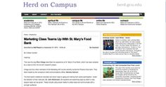 News article in the Herd on Campus (now GCU Today) - the Grand Canyon University online student news paper (Page 1 of 2)
