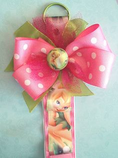Headband Holder  Tinker Bell    by EverlastingsBySue on Etsy, $14.99