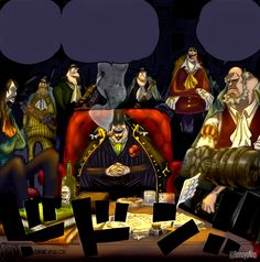 One Piece 857 - Capone and his gang by Hanayo-Nao on DeviantArt One Piece Comic, One Piece Anime, Devian Art, The Pirate King, The Millions, Deadpool, Animation, Comics, Character