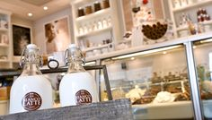 one of my favourites Latte, Gelato Shop, Retail Boutique, Store Fronts, Coffee Drinks, Ice Cream, Shops, Food, Spaces