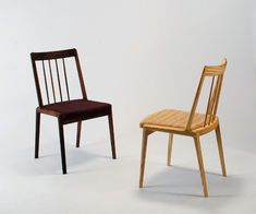 Rib chair produced by Miyazaki Chair Factory - Murasawa Kazuteru