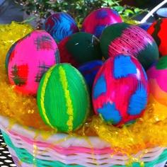 Cascarones. Not confetti eggs.