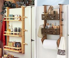 I want something like this to hold spices on side of frig