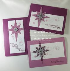 Marelle Taylor Stampin' Up! Demonstrator Sydney Australia: Star of Light Stamp-a-Stack
