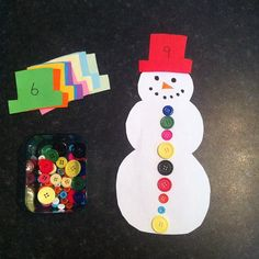 Counting with snowman