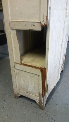The damaged cabinet, via a possible Ninja
