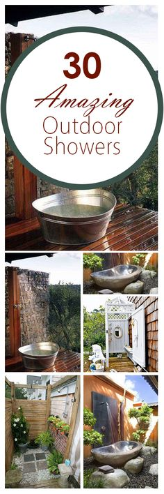 30 Amazing Outdoor Showers