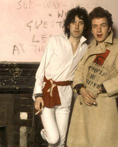 The Clash - Joe Strummer & Mick Jones